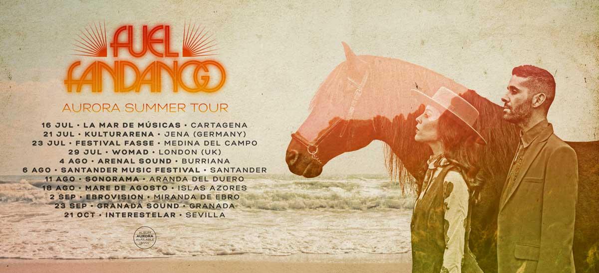 Fuel Fandango Aurora Summer tour